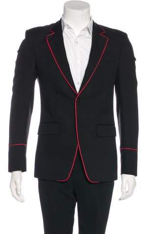 Givenchy 2017 Wool & Mohair Blazer w/ Tags