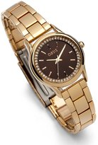 Oasis Women's Quartz Watch with Dial and Rose Gold Stainless Steel Bracelet B1502