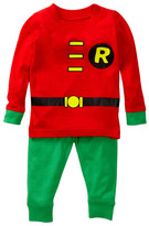 Intimo Robin Long Sleeve Tight Fit PJ Set (Baby &Toddler Boys)