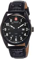 Swiss Military Hanowa Men's Sergeant 06-4181-13-007 Leather Quartz Watch with Dial