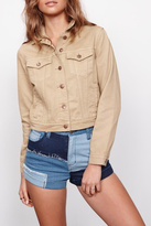 MinkPink Sandstorm Denim Jacket