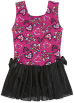 Jacques Moret Jacques Mort Cheetah Hearts Tank Top Skirtall - Girls