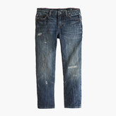 J.Crew Boys' destroyed beat-up wash jean in slim fit