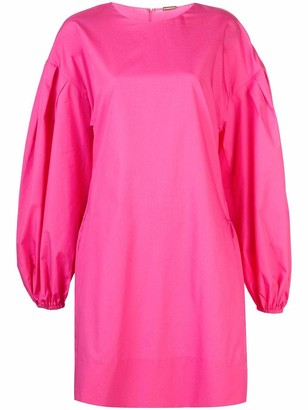 Adam Lippes Shirred Cotton Midi Dress
