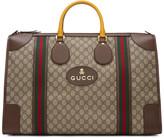 Gucci Beige Neo Vintage Duffle Bag