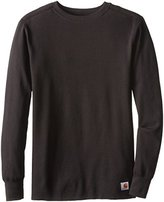 Carhartt Men's Tall Base Force Cotton Super Cold Weather Crew Neck Top