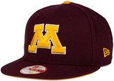New Era Minnesota Golden Gophers Core 9FIFTY Snapback Cap