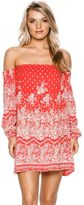 Billabong Same Roads Off Shoulder Dress