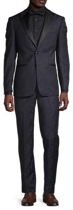 Calvin Klein Slim-Fit Printed Suit
