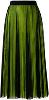 MSGM pleated skirt - women - Polyester - 38