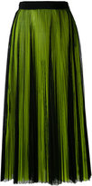 MSGM pleated skirt - women - Polyester - 40