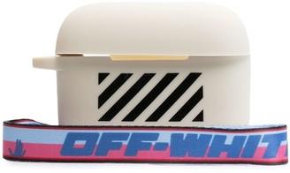 Off-White Diag Silicon Airpodspro Cover White Blac