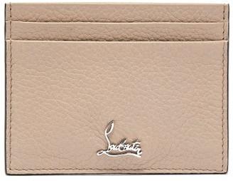 Christian Louboutin Kios Logo Leather Cardholder - Ivory