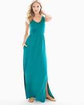 Soma Intimates Sleeveless Goddess Maxi Deep Lake