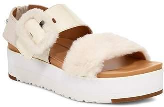 UGG Women's Le Fluff Platform Sandals