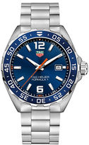 Tag Heuer Formula 1 Brushed Steel Bracelet Watch, WAZ1010BA084