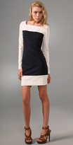 Milly Combo Sleeve Dress