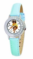 Disney Kids' D652S409 High School Musical Chad Blue Leather Strap Watch