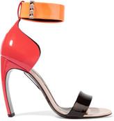Nicholas Kirkwood Maeva color-block patent-leather sandals