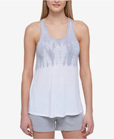 Tommy Hilfiger Tie-Dyed Twist-Back Tank Top, A Macy's Exclusive Style