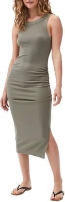 Michael Stars Wren Sleeveless Side Slit Knit Midi Dress