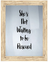 "PTM Images Not Waiting Framed Print - 16.75"" x 20.75"""