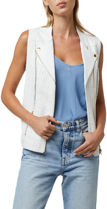 As By Df Sao Paolo Leather Vest