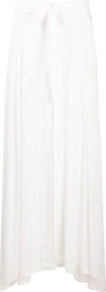 Ann Demeulemeester Tie-Waist Pleated Skirt