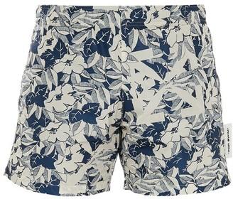 Off-White Off White Flower swim shorts