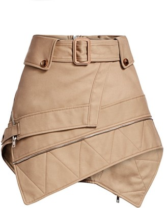 Alexander Wang Deconstructed Trench Mini Skirt