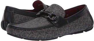 Salvatore Ferragamo Parigi 19 Loafer (Grey/Black) Men's Slip-on Dress Shoes