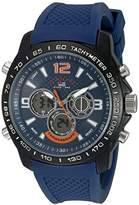 U.S. Polo Assn. Sport Men's US9557 Analog-Digital Blue Watch