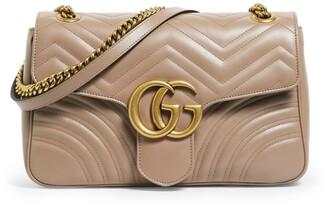 Gucci Medium Marmont Matelasse Shoulder Bag