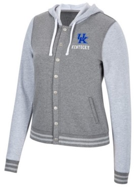 Top of the World Women's Kentucky Wildcats Varsity Snap Jacket
