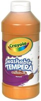 Crayola Artista II Washable Tempera Paint 16oz Orange
