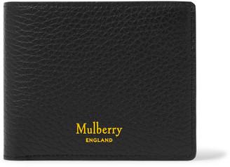 Mulberry Full-grain Leather Billfold Wallet - Black