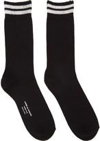 Comme des Garcons Black Double Stripe Socks