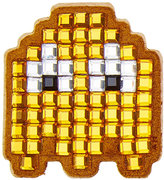 Anya Hindmarch Embellished Suede Pac Man Ghost Sticker