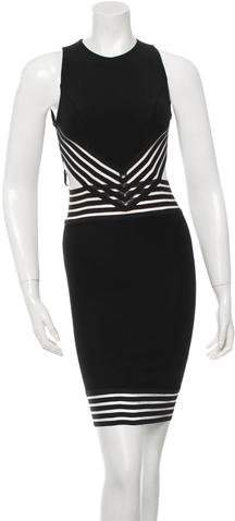 Christopher Kane Cutout Mini Dress