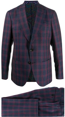 Etro Plaid Suit