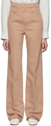 Lemaire SSENSE Exclusive Pink Straight Jeans