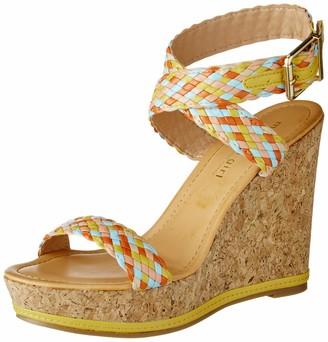 Madden-Girl Women's NARLA Espadrille Wedge Sandal