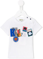 Kenzo badges T-shirt - kids - Cotton - 6 mth