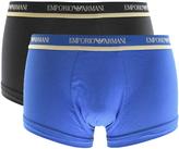 Giorgio Armani Emporio Underwear 2 Pack Trunks Blue