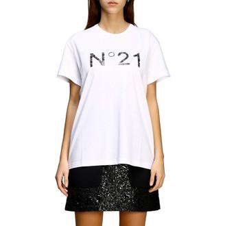 N°21 N 21 T-shirt N ° 21 T-shirt With Logo Print