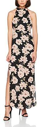 New Look Petite Women's Print Maxi Sleeveless Dress,4
