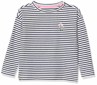 Noppies Girl's G Regular T-Shirt Ls Clifton Y/d Str Long Sleeve Top