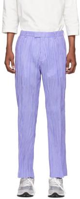 Hope Purple Hide Trousers