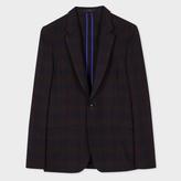 Paul Smith Men's Tailored-Fit Muted Check Merino-Wool Blazer