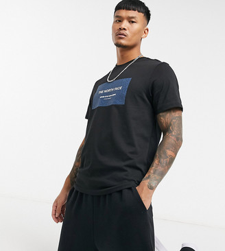 The North Face Topo Box T-shirt in black Exclusive at ASOS